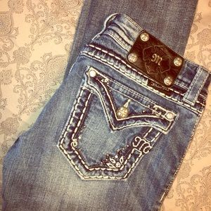Miss Me Light Wash Distressed Jeans